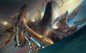 Picture Diablo III, Auriel, prayer