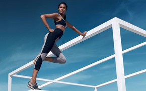 Picture girl, sport, sport, luxury, спортивная культура, luxe activewear, best athleisure