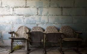 Picture background, wall, chairs