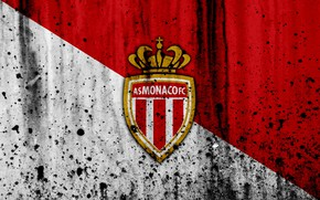 Picture wallpaper, sport, logo, football, Ligue 1, AS Monaco