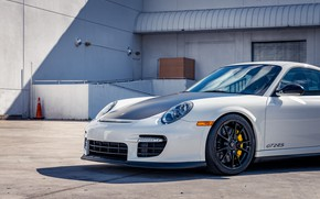Picture The hood, 2011, The front, Sports car, Porsche 911 GT2RS