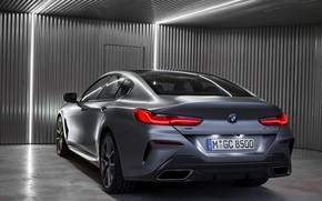 Picture light, coupe, BMW, Gran Coupe, ass, 8-Series, 2019, the four-door coupe, Eight, G16
