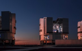 Picture Observatory, Chili, ESO Very Large Telescope (VLT), Panoramic Picture, Cerro Paranal