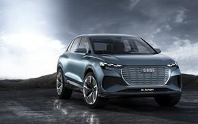 Picture car, Audi, Audi Q4 e-tron, Audi q4