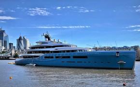 Picture England, London, yacht, Aviva