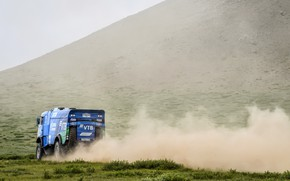 Picture Auto, Dust, Sport, Machine, Truck, Race, Master, Russia, Race, Russia, Kamaz, Rally, KAMAZ-master, Rally, Truck, …