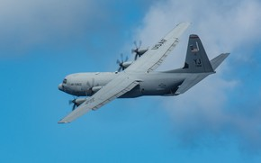 Picture UNITED STATES AIR FORCE, Lockheed Martin, American military transport aircraft, C-130J Super Hercules