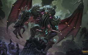 Picture monster, being, Cthulhu, Smite