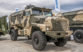 "Picture exhibition, wheel, armored car, Ural, armored, Ural-63099, Typhoon-, Ural-63099 ""Typhoon-u"""