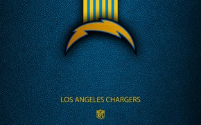 Picture wallpaper, sport, logo, NFL, Los Angeles Chargers