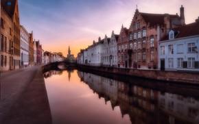 Picture channel, Belgium, Bruges