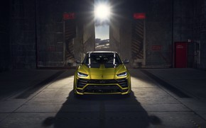 Picture machine, light, Lamborghini, Urus, Novitec
