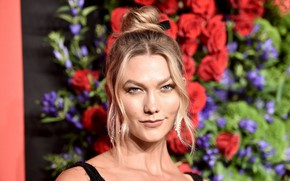 Picture look, model, makeup, photoshoot, model, look, makeup, make up, Karlie Kloss, Karlie Kloss