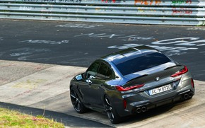 Picture coupe, BMW, the fence, Gran Coupe, AC Schnitzer, on the track, 2020, BMW M8, M8, …