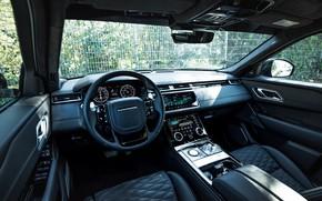 Picture black, interior, Land Rover, Range Rover, SUV, Manhart, 2020, Velar, SV 600