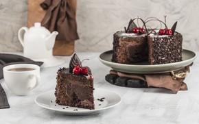 Picture cake, cream, dessert, chocolate, biscuit, a piece of cake, АЛЕКСЕЙ ХОРУЖЕНКО