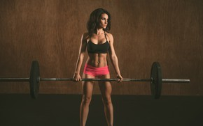 Picture fitness, trainning, workout, brunette