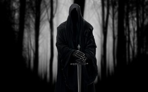 Picture Figure, Forest, The Lord Of The Rings, Art, Art, Ghost, The Lord of the Rings, …