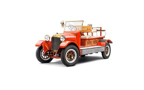 Picture skoda, fire truck, 1919, Laurin & Klement