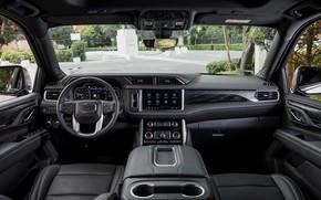 Picture interior, GMC, SUV, Denali, Yukon, 2020