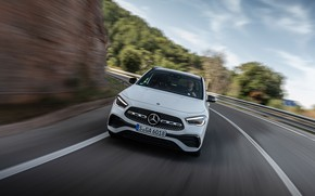 Picture Mercedes-Benz, speed, crossover, GLA, 4MATIC, GLA-Class, 2020, AMG Line, GLA 250