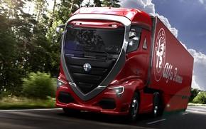 Picture Truck, Italy, Alfa romeo Truck concept car