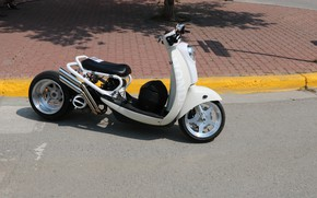 Picture Honda, Custom, Motorbike, Modified, Scooter, SparkyGT