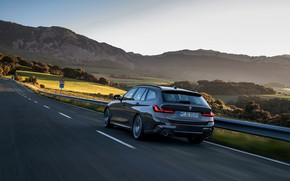 Picture movement, BMW, 3-series, universal, Touring, 3P, 2019, dark gray, G21