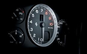 Picture Ferrari, The instrument panel, 575M Maranello