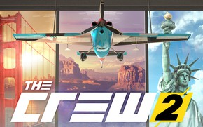 Picture logo, game, Ubisoft, The Crew 2
