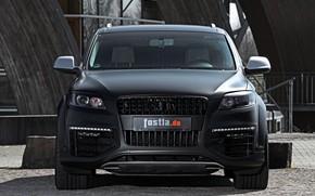 Picture Audi, TDI, 2012, front view, V12, Quattro, SUV, Audi Q7, Fostla, Q7