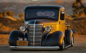 Picture Truck, Retro, Custom, 1938 Year, Checrolet