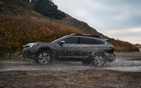 Picture water, squirt, Subaru, universal, Outback, AWD, 2020