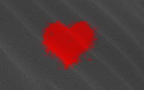 Picture heart, spot, praznik