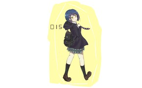 Picture girl, Ichigo, steps, Darling In The Frankxx, Cute in France
