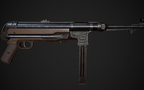 Picture Germany, MP 40, The gun