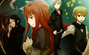 Picture characters, Spice and Wolf, Holo, Kraft Lawrence, Spice And Wolf
