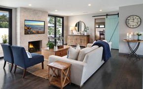Picture photo, sofa, chair, living room