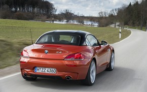 Picture field, BMW, Roadster, pond, 2013, E89, BMW Z4, Z4, sDrive35is