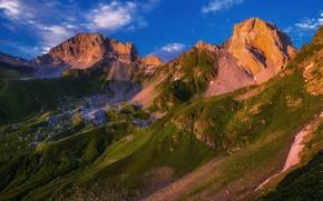 Picture landscape, mountains, nature, The Caucasus, Zahedan Scala