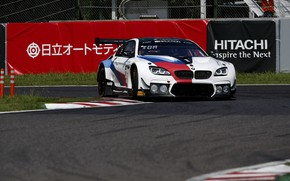 Picture coupe, turn, BMW, track, 2019, M6 GT3