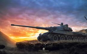 Picture tank, World of Tanks, Skoda T 27