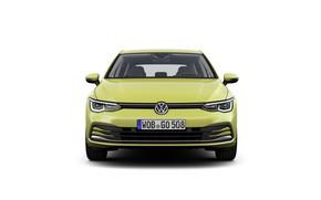 Picture volkswagen, compact car, golf 8