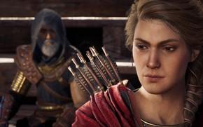 Picture game, Kassandra, Ubisoft, Assassin's Creed, 2018, Odyssey, Assassin's Creed Odyssey