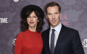 Picture hat, Benedict Cumberbatch, wife, Benedict Timothy Carlton Cumberbatch, Sophie Hunter