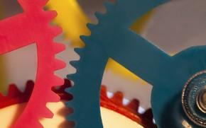 Picture paint, mechanism, gear