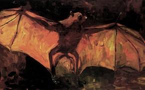 Picture bat, Vincent van Gogh, Flying Fox