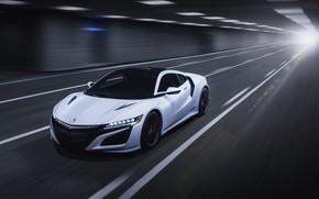 Picture speed, Honda, 2018, Acura, NSX, by Jimmy Zhang