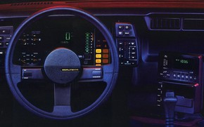 Picture Auto, Machine, Panel, Salon, Camaro, The wheel, Berlinetta, Camaro Berlinetta, 1984 Camaro Berlinetta Dash