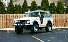 Picture Ford, Classic, Old, Off Road, Bronco